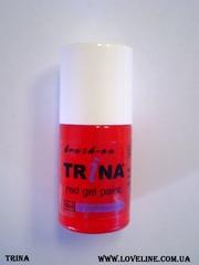 Trina гели для френча белые,  красные,  черные.