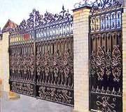 Кованые ворота от производителя.  Доставка+Установка по Украине