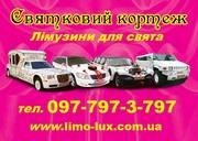 Лімузини в Івано-Франківську - 097-797-3-797
