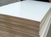 МДФ ламинированная 10 мм,  16 мм,  19 мм для кухонных фасадов.