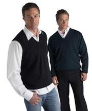 Изготовление вязаных свитеров и жилетов для сотрудников фирмы. Пошив о