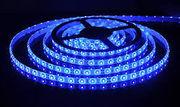 Светодиодная лента led 5050 b (синий),  5м комплект