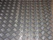 Лист алюминиевый АДО рифленый купить недорого