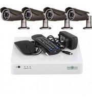 Комплект Видеонаблюдения Green Vision GV-K-L11/04 720P