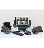 Комплект Видеонаблюдения GreenVision GV-K-M 7304DP-CM02 LСD