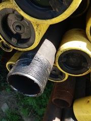 Труба стальная бесшовная новая ф32-245 НКТ73-89 Обсадная наличие